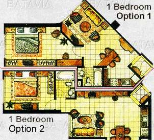 Bedroom Apartments On Floor Plan For 1 Bedroom Apartment